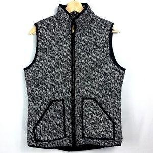 San Joy Herringbone Puffer Vest